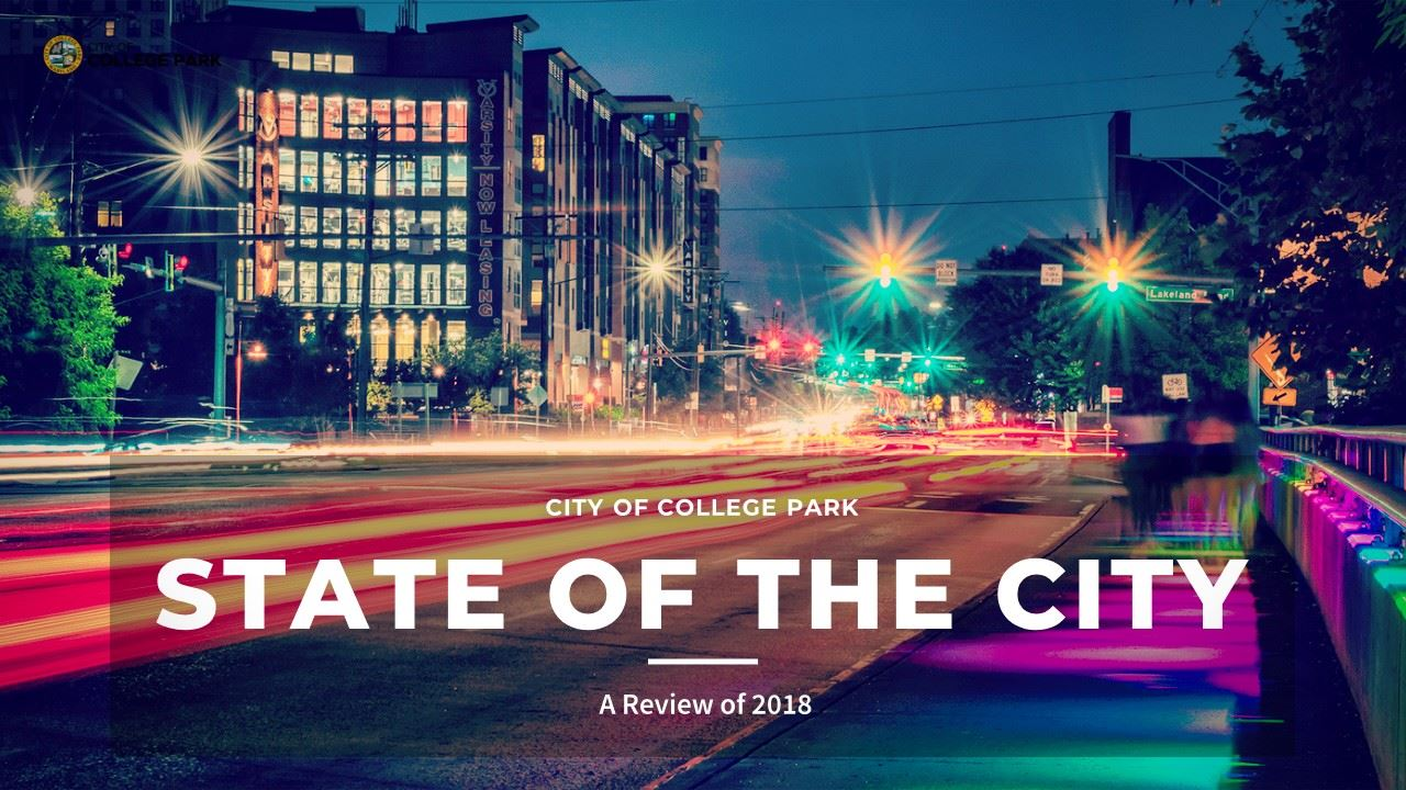 State of the City 2018 Report