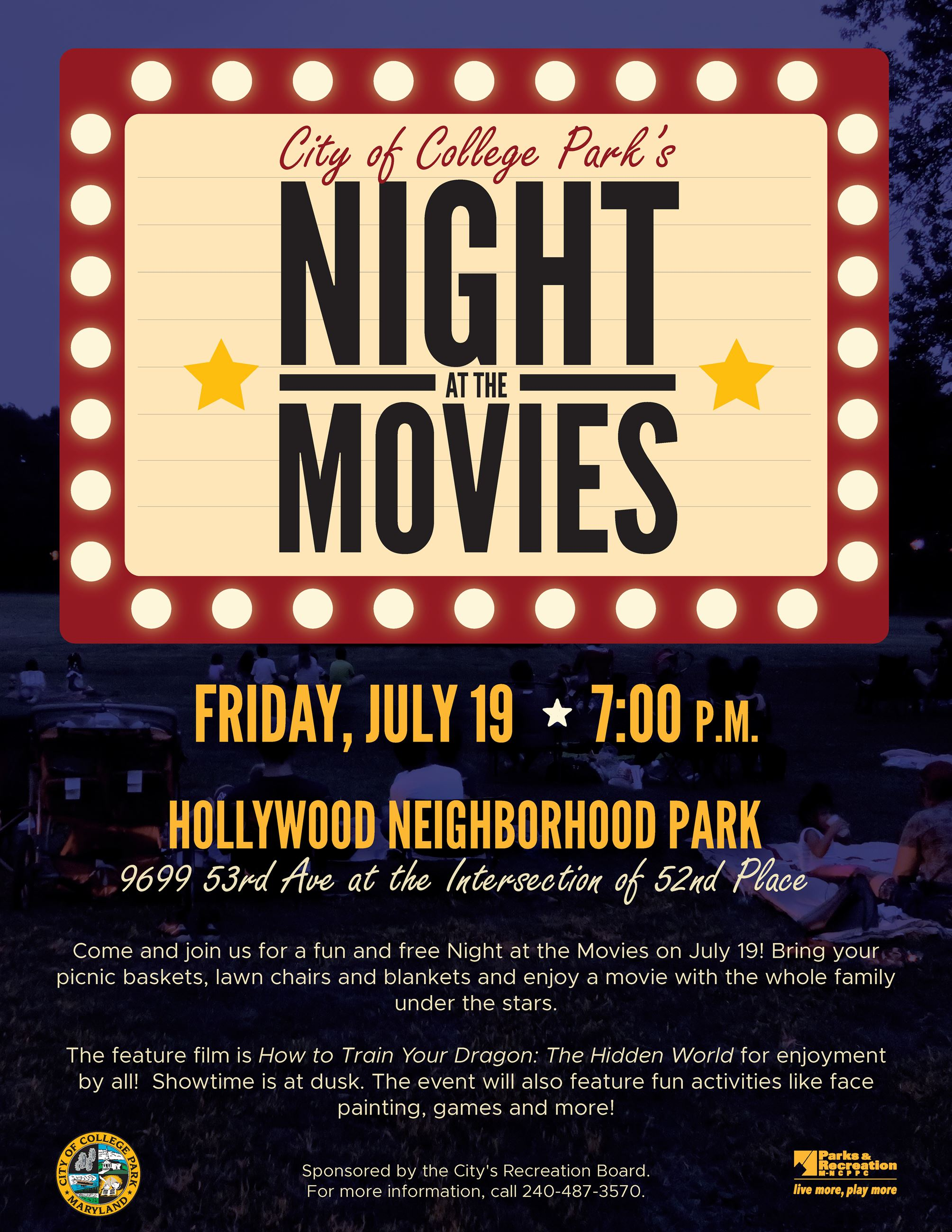 Night at the Movies July 19 2019
