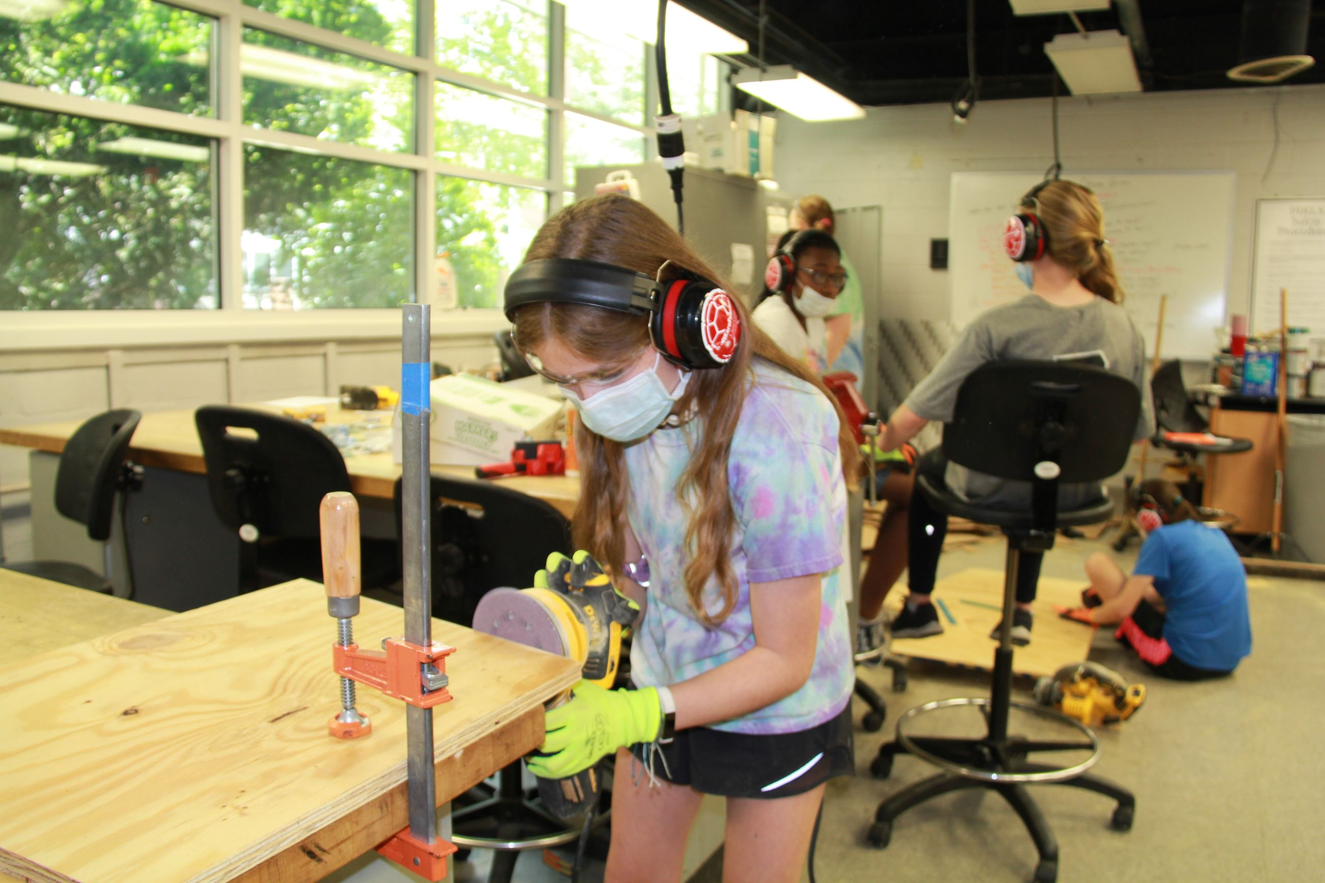 M-Power Tools summer camp
