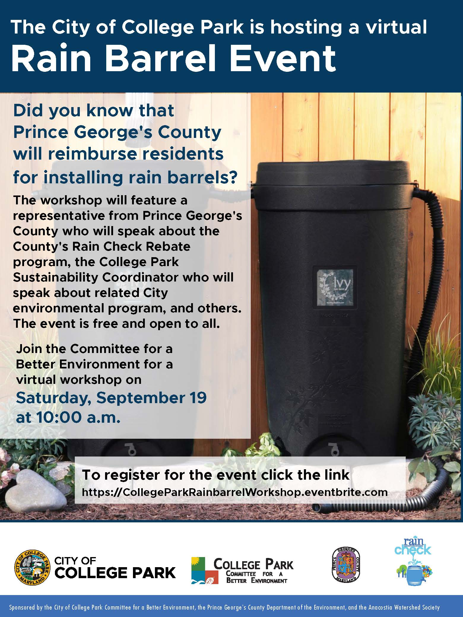 Rain Barrel flyer -2020
