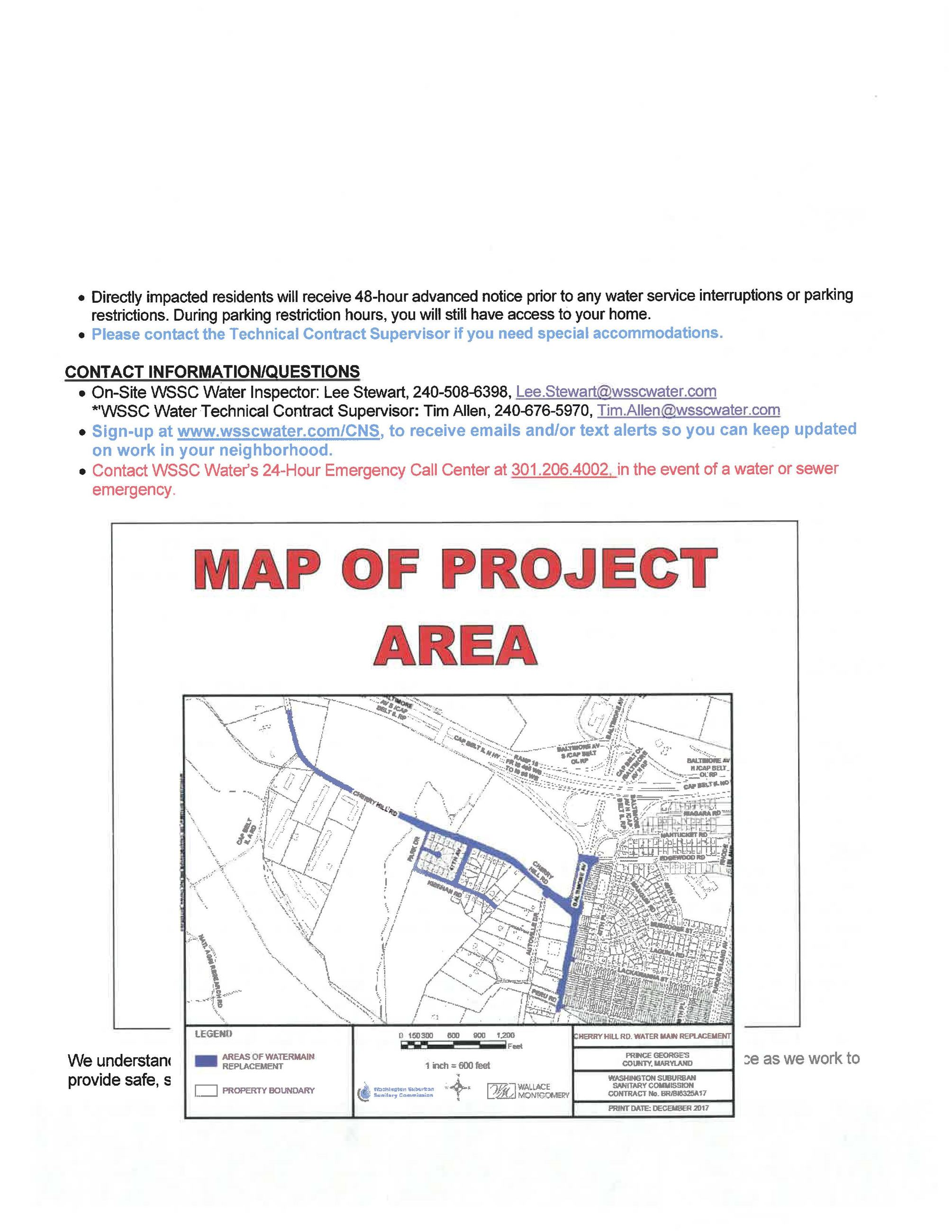WSSC Notification - Cherry Hill WMR Project _Page_2