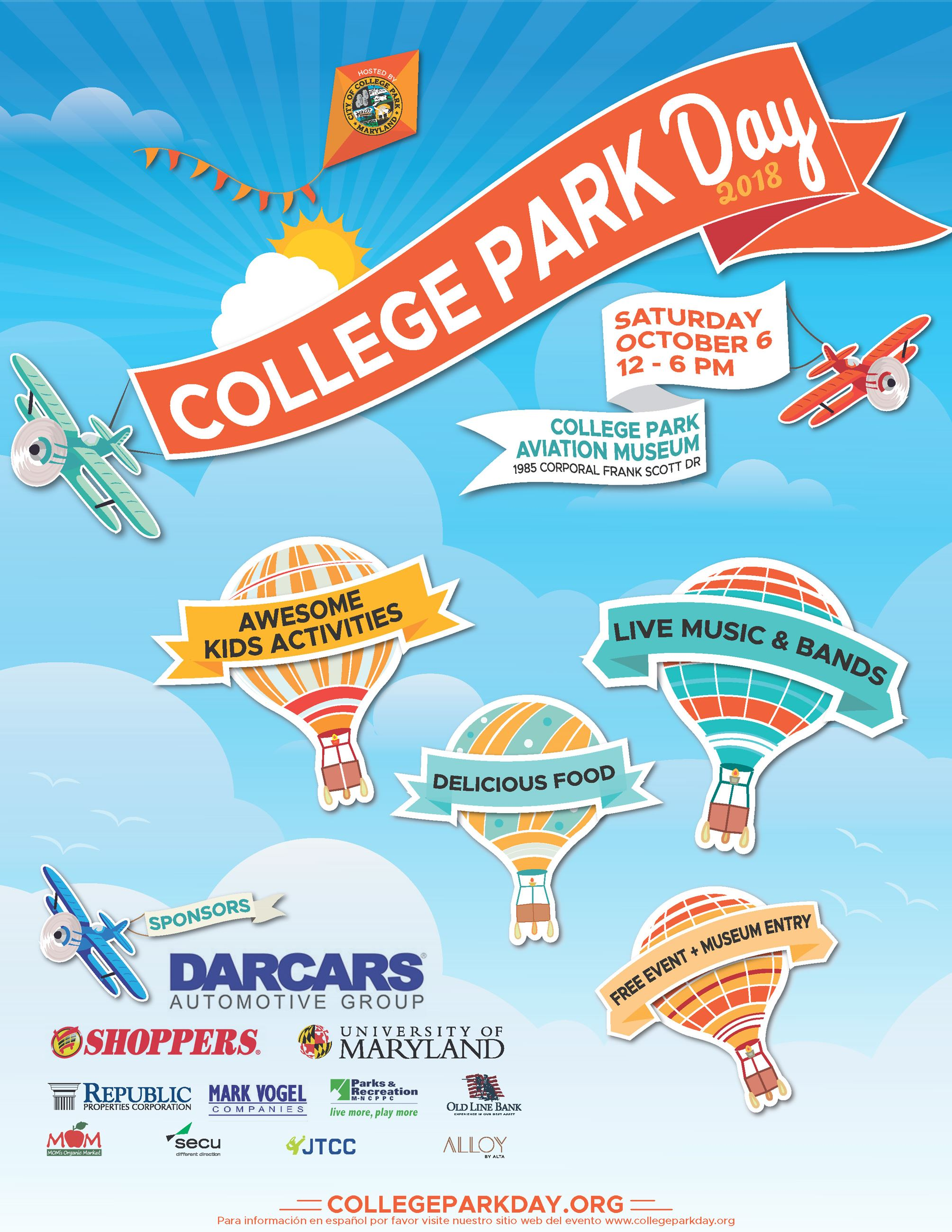 College Park Day Poster 8.5x11