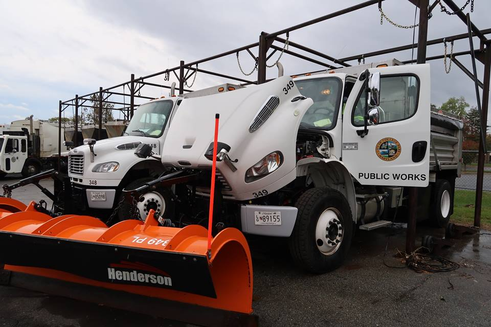 DPW Snow Removal Trucks