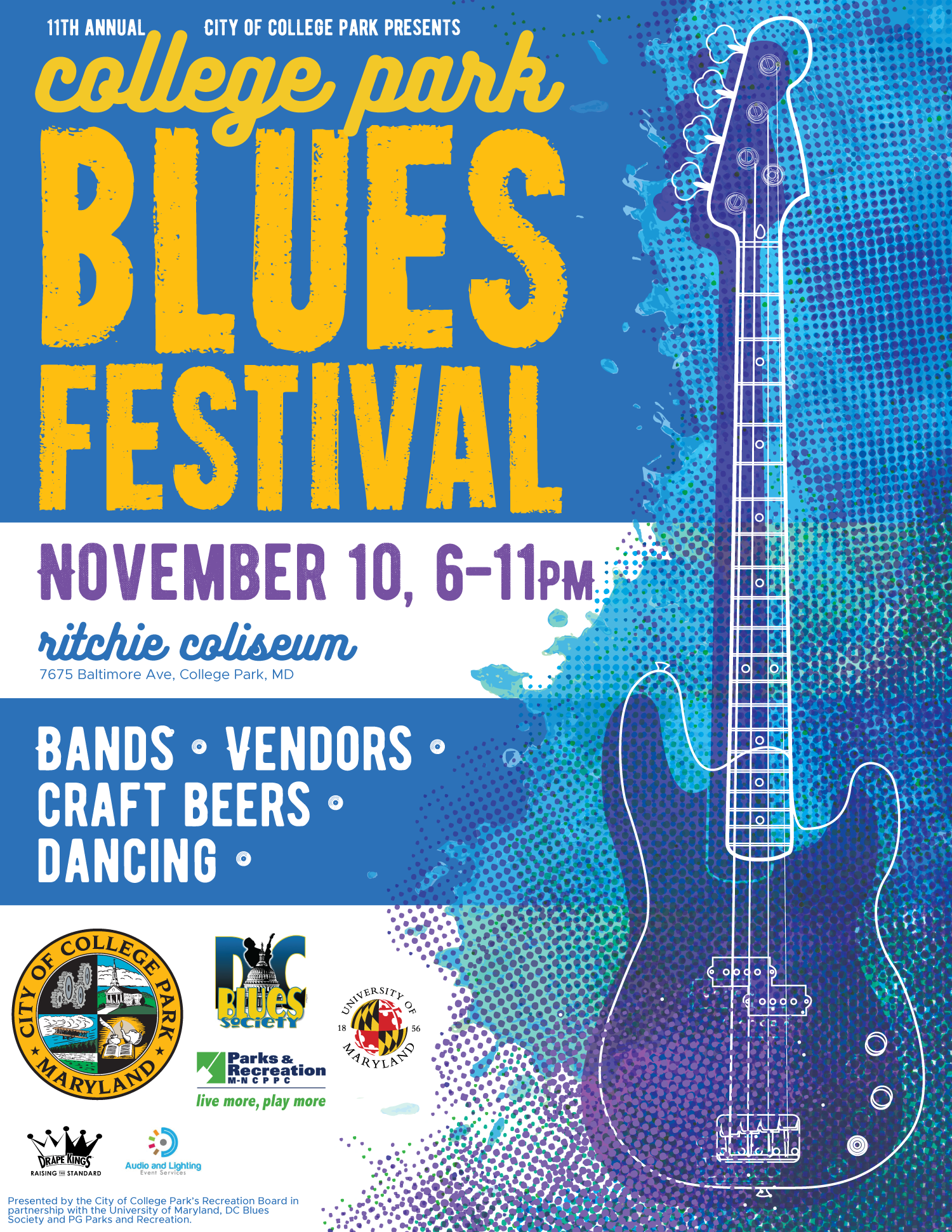 College-Park-Blues-Festival-2018-Poster