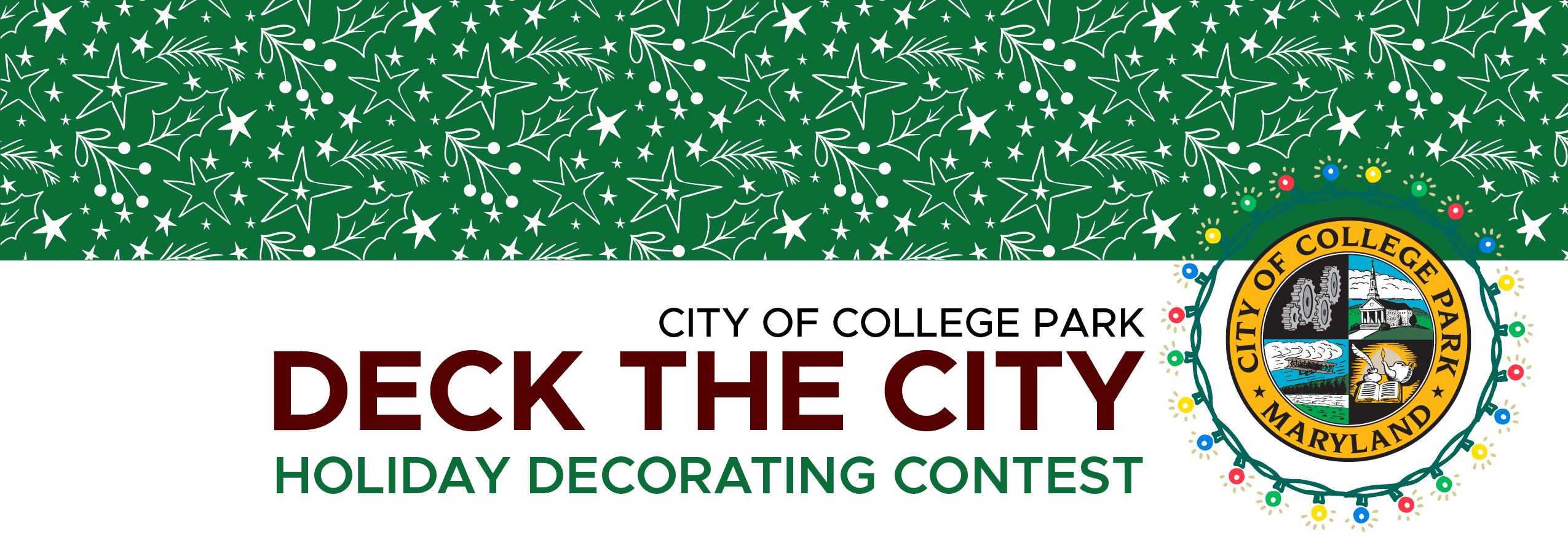 Deck the City Holiday Decorating Contest